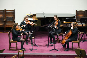 Senior School String Quartet Girls