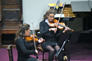 Senior School Girl Violinists