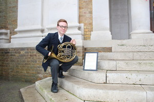 National Concert Band Gold Award Winners Dec 16 French horn