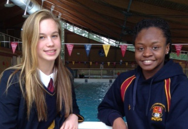 Ellie & Elinah in British Winter Nationals Finals