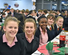 Senior School Day Houses Christmas Dinner, Benson
