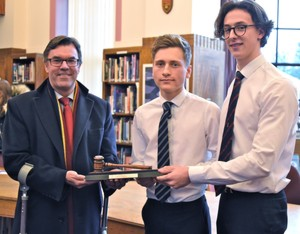 Senior Debating Final 2016 Hayward Winners