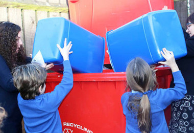 Year 2 Take on Recycling Role