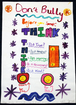 Prep School Anti Bullying Poster Winner 5