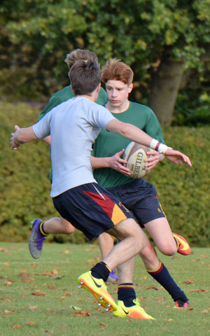 Senior School House Rugby 2016 Sutton and RPH