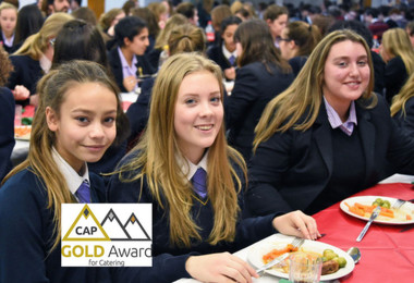Sixth Gold Award for Catering