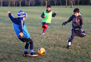 Fun After School Football Club in Pre-Prep