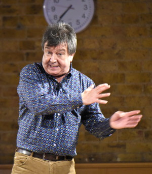 Stuart Maconie at Bishop's Stortford College