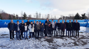 Upper Sixth Physics Trip to CERN Group of Pupils