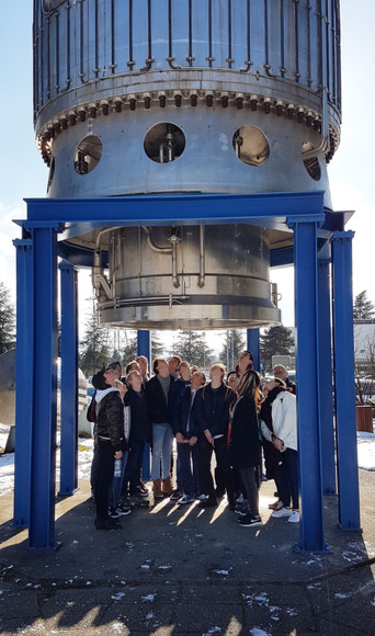 Upper Sixth Physics Trip to CERN Pupils under Structure