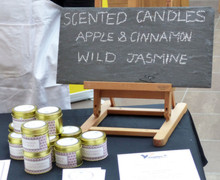 Sixth Form Young Enterprise Candle Business Sign