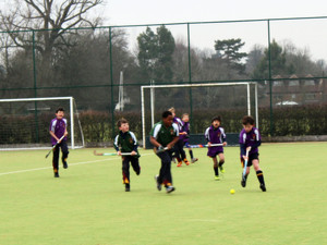 F1 & 2 Grimwade v Newbury Hockey House Matches