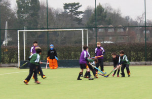 F1 & F2 Prep School House Hockey Grimwade v Newbury