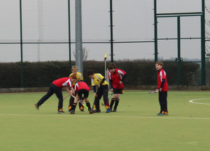 F1 & 2 Monk Jones v Westfield Prep School House Hockey
