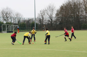 F1 & 2 Prep School Boys House Hockey Monk Jones v Westfield