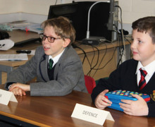 Prep School Form 2 Visit from Magistrates