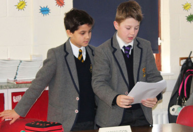 Prep School Pupils are Magistrates for the Day