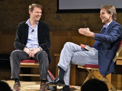 Luke Harding in conversation with Jason Cowley