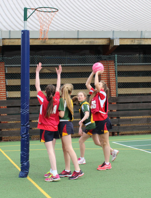 Monk Jones v Grimwade Prep School House Netball