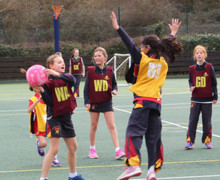 Prep School House Netball Matches March 17