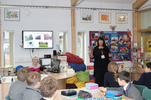 World Book Day with Kim Slater and Form 2