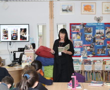 World Book Day with Kim Slater and Form 2 Pupils