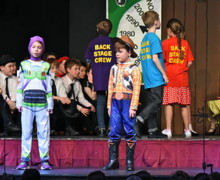 Shell Play Pupils as Toy Story Characters