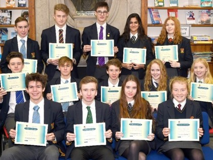 Senior School CV Competition Winners