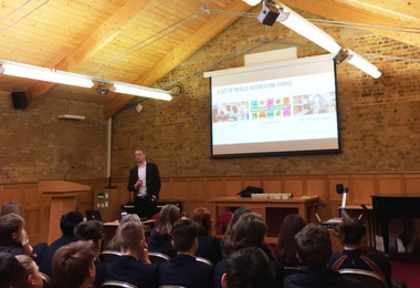 Deloitte Careers Talk to L5th and Sixth Form