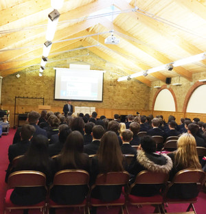 Ernst and Young Careers Talk to L5th & 6th Form Pupils
