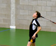 Senior School L5th Badminton Player v Felsted