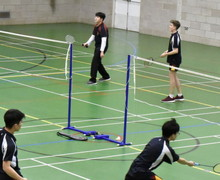 Senior School Badminton Matches v Felsted