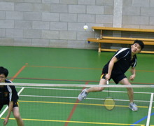 Sixth Form Badminton v Felsted School