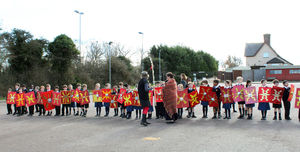 Shell Invasion Centurions waiting for battle outside pre prep