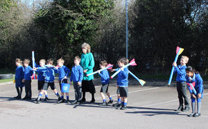 Shell Invasion Pre prep pupils ready to fight back