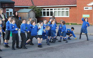 Shell Invasion Pre prep pupils showing fighting spirit 2