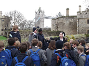 Upper Shell Pupils History Trip to Tower of London