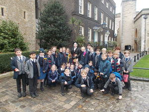 History Trip to Tower of London for Upper Shell
