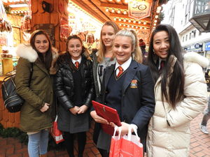L5 Germanists Visit to German Christmas Market