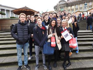 L5th Germanists in Birmingham for Christmas Market
