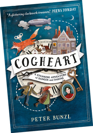 Cogheart book cover