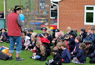 Pre-Prep School Pirates for the Day