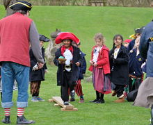 Pre-Prep School Pirates with Captain