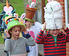 Exciting Pre-Prep School Easter Bonnet Parade