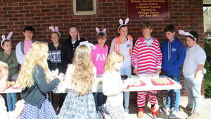 Prep School Break cake sale for Charity