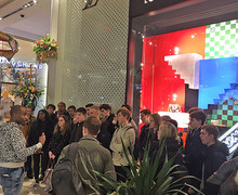 Sixth Form Students on Macys Marketing Tour in New York