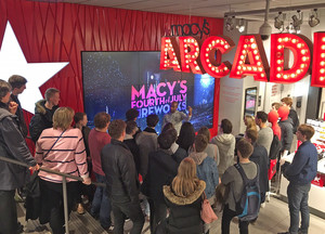 Sixth Form Business Trip to New York Macys Tour