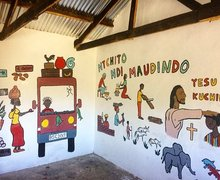 Decorated Classroom Walls Malawi Expedition 2017