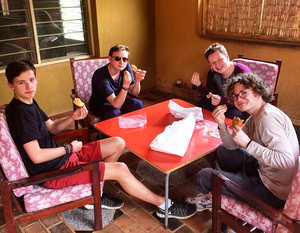 Eating Focaccia Malawi Expedition 2017