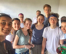 Sixth Form Students with Paint Malawi Expedition 2017